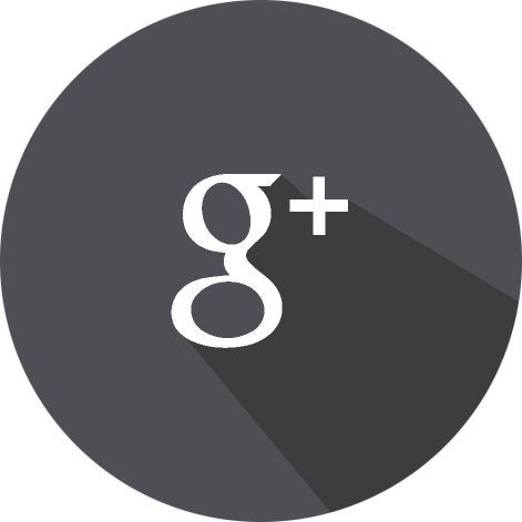 Googleplus circle shaded